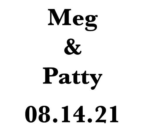 Wedding of Meg and Patty Aug 14, 2021 (Prints)