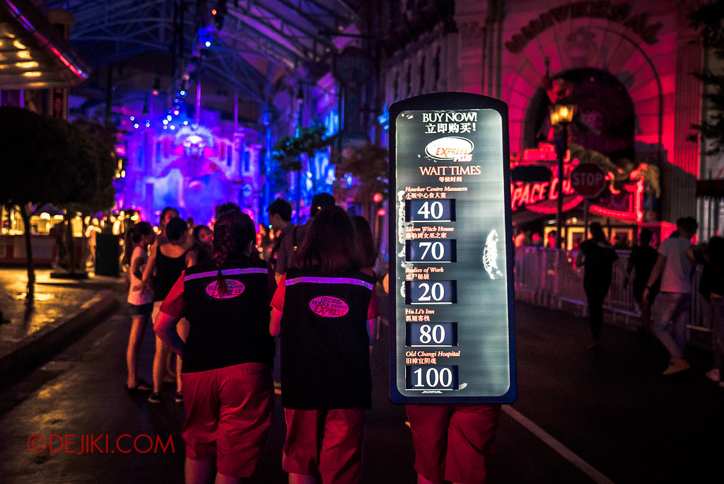 Halloween Horror Nights 6 SURVIVAL GUIDE by Dejiki.com / Express Pass mobile sellers