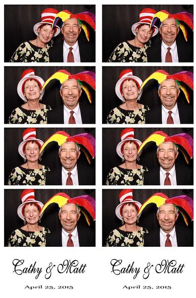 Cathy & Matt April 25, 2015
