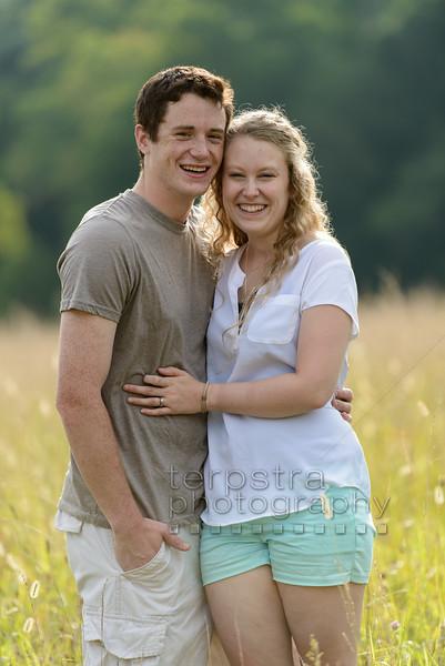 Kelly + Ethan's Early Summer Wedding