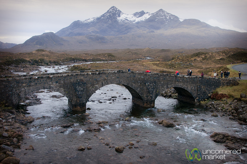 Sligachan River and Bridge - Isle of Skye, Scotland