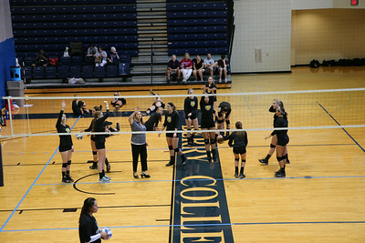 2014 DePauw University Women's Volleyball