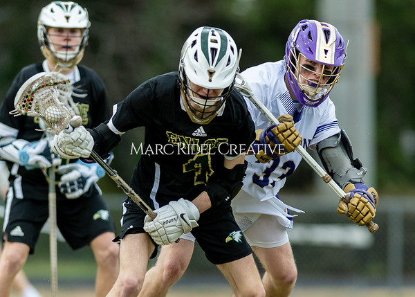 Broughton boys varsity lacrosse vs Enloe. March 10, 2020. D4S_7798