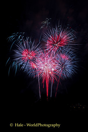 Sailfest Fireworks 2015