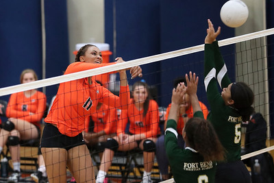 SPX Volleyball 2016 vs Ft Bend Christian