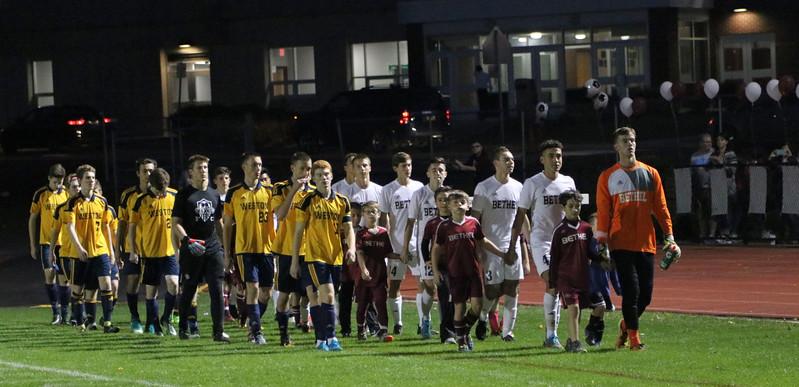 Varsity Boys Soccer vs Weston - 10/20/2017