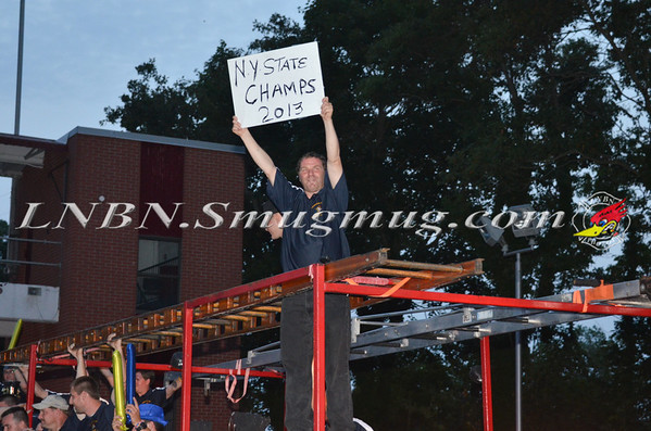 Central Islip Hoboes NYS Championship Party 8-31-13