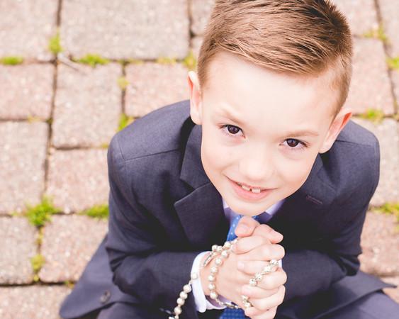 Logan First Communion