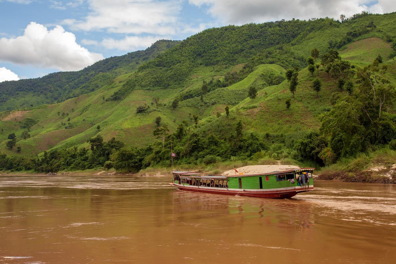 Mekong River Public Slow Boat