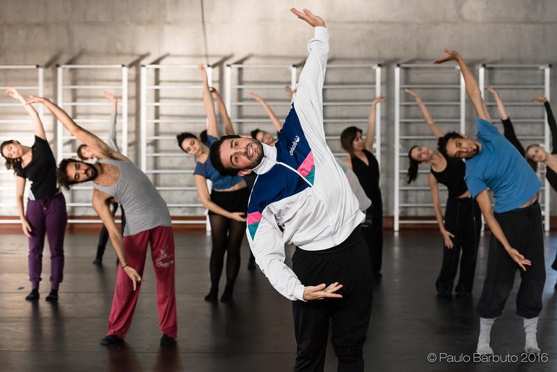 Australia now - Sydney Dance Company - Workshop & Ensaio - Abril 2016