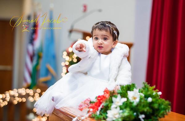 BAPTISM - IZZAH MARY ALAN