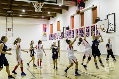 TASIS Girls JV Basketball Take on Cassarate U15