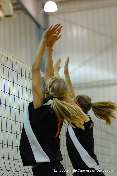Jonesville vs E Jackson Volleyball JV & V