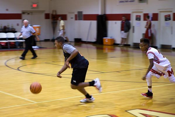 MS Basketball at WCA Tournament