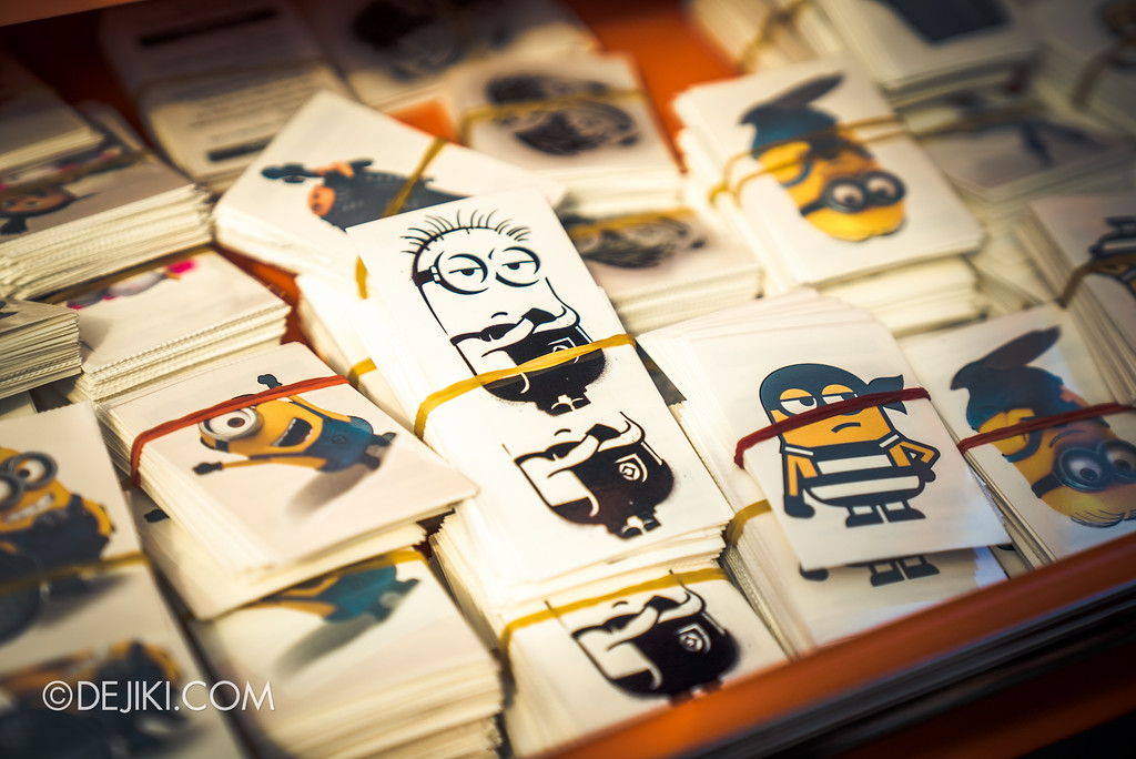 Despicable Me Breakout Party at Universal Studios Singapore / Minion Tattoo choices