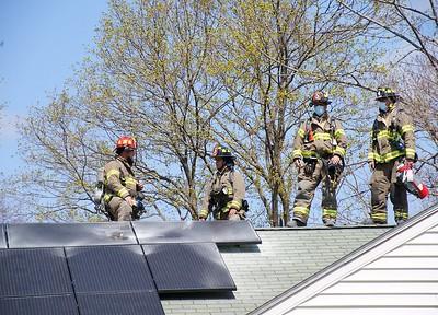 Structure Fire - 140 E. Robbins Ave., Newington, CT. - 4/10/21