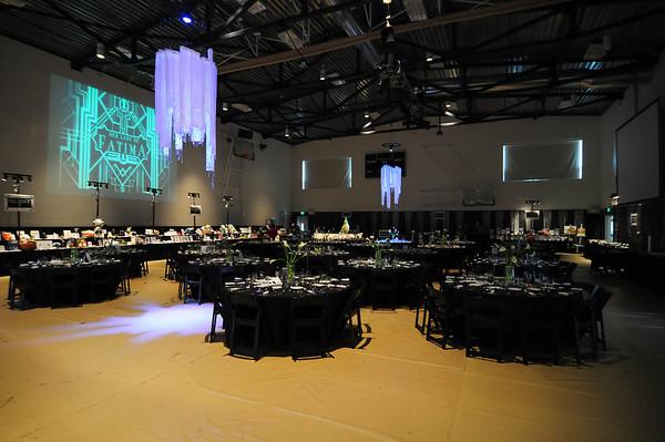 2013 OLF Auction set up