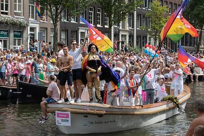 2018 Amsterdan Gay Pride Boat Parade