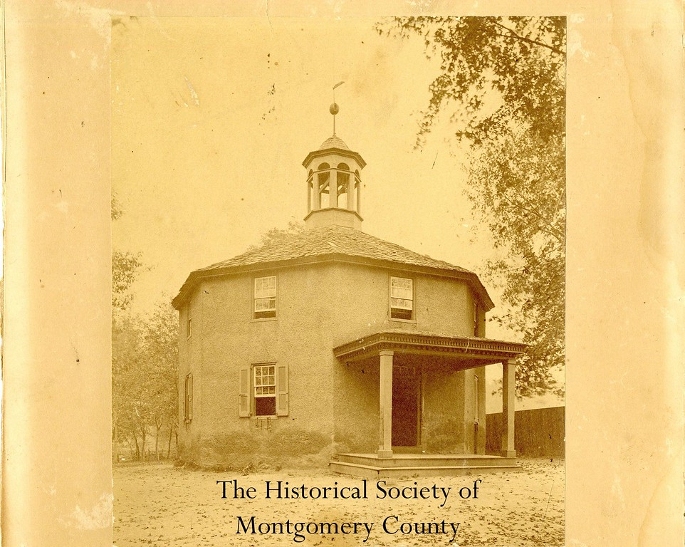 . This undated photo from the Historical Society of Montgomery County shows the Octogonal School House in Conshohocken.