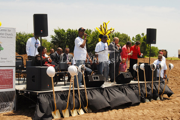 Greater Bethel Baptist Church Ground Breaking June 1, 2008