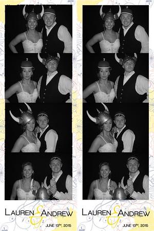 Lauren and Andrew June 13, 2015