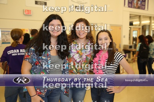 Homecoming 2017 - Thursday by the Sea