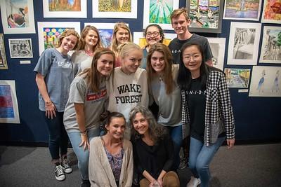 AP Art & Honors Art Show 2019