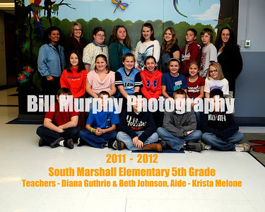 2011 - 2012 South Marshall Class Groups, January 17, 2012.