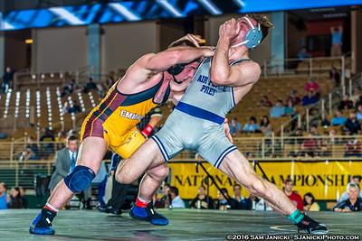 197 - Rechsteiner def. Wagner - 2016 NCWA Championships