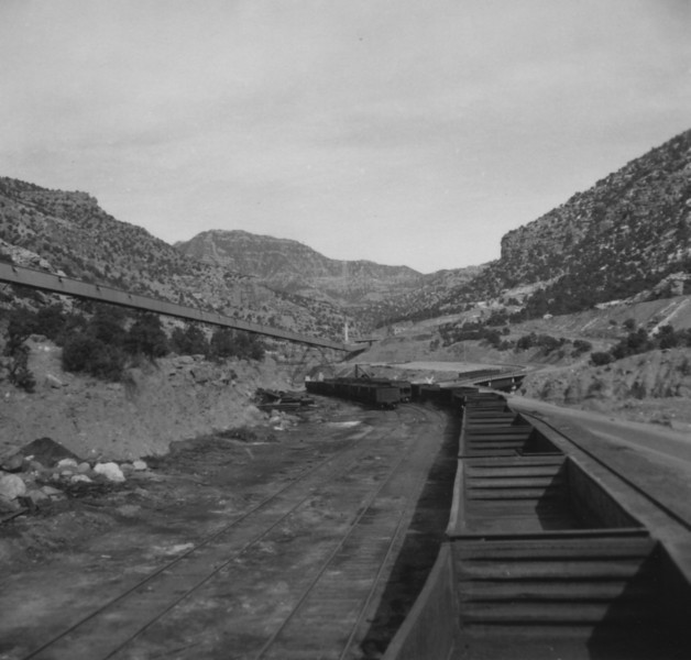 Geneva mine rail yard. (Bill Shaff Collection)