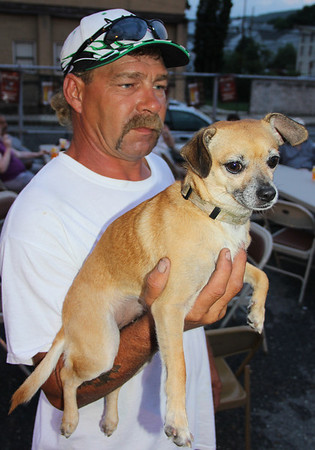 Found Dog, Summer Festival, St. Jerome School, Tamaqua (7-20-2013)
