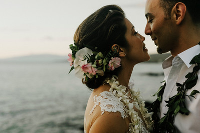 Cat and Eric / Mauna Kea Resort