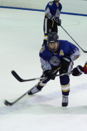 Hatfield Ice Dogs 16A White at Lehigh Valley Flames Red 2-16-2014