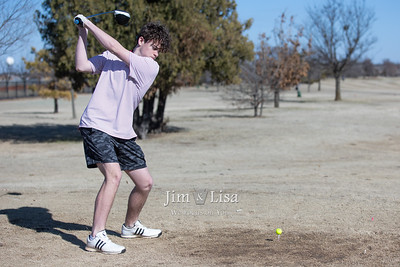 Golf Practice, March 2