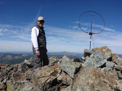 English Mountain (W6/NS-151) SOTA Activation 10/07/2013