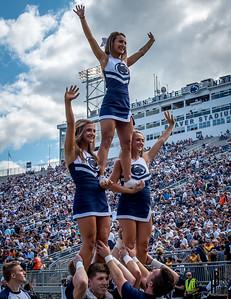 Penn State vs Kent State Cheerleading