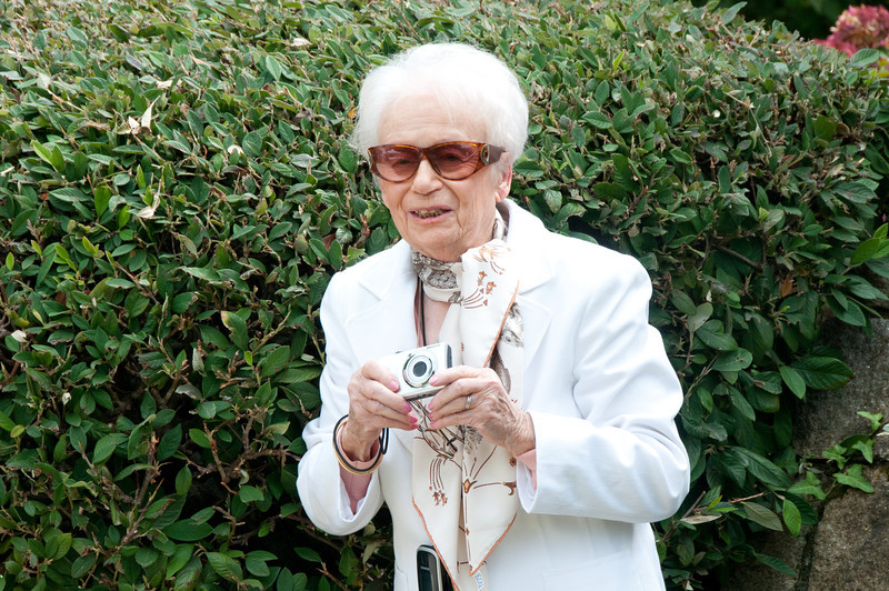 Oh to be so darling at 94!