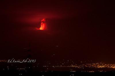Mt Etna 2013