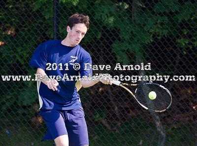 6/10/2011 - MIAA Division 1 South Finals - Boys Varsity Tennis - Wellesley vs Needham