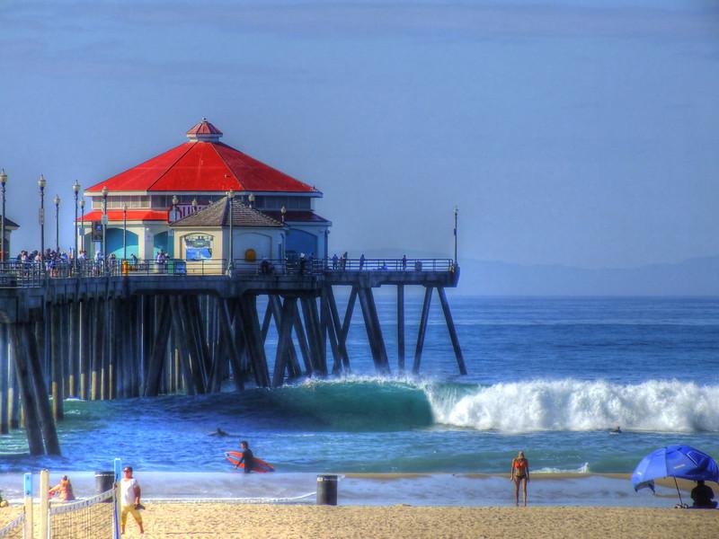 Summer Surf Huntington Beach Pier.jpg