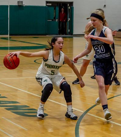 Set eight: Girls Varsity Basketball v Cascade Christian 01/15/2019