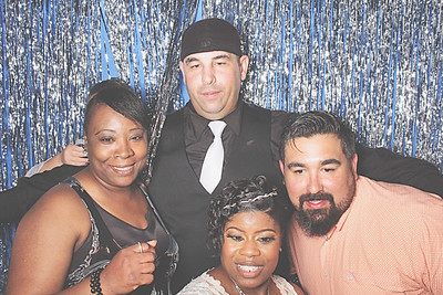 4-10-21 Atlanta Travel Weddings And Events Photo Booth - Michael and Catricia's Wedding - Robot Booth
