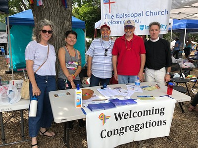 Episcopalians at Boulder Pride - 9/9/18