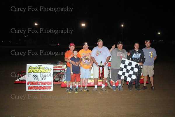 July 1, 2017 - MSCS Sprints and UMP Modifieds