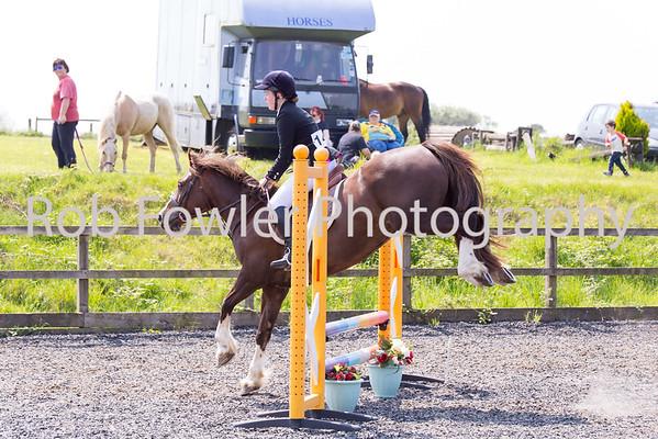 Gemma White riding Zharia