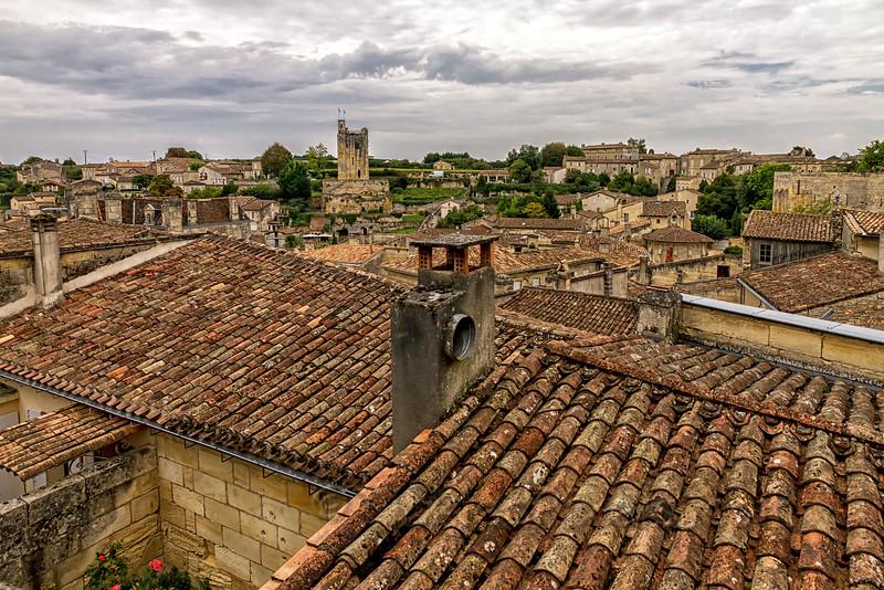 Rooftops of Saint-Émilion