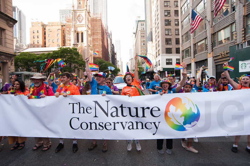 2019.06.30 - 2019 NYC Pride Parade with The Nature Conservancy