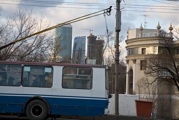 Berezhkovskaya naberezhnaya, Moscow, 2007