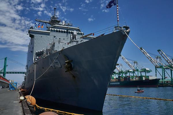 Bob Hope USO- Fleet Week Day Four