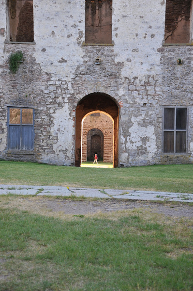In the island of Öland, Sweden, in the Baltic sea. The Swedish royal family has its Summer mansion close to this castle ruin of Borgholm. http://www.borgholmsslott.se/